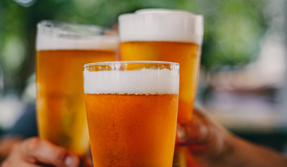 craft beer cheers