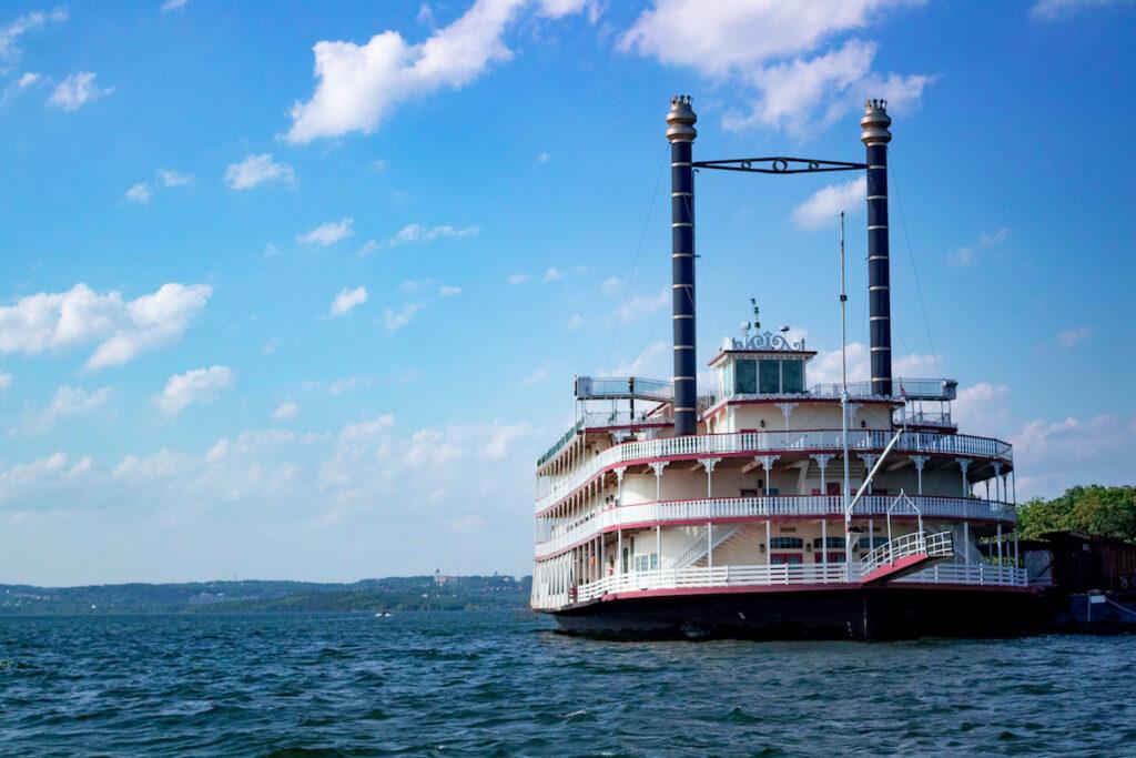 Showboat Branson Belle, a ferry on Table Rock Lake in Branson Missouri.