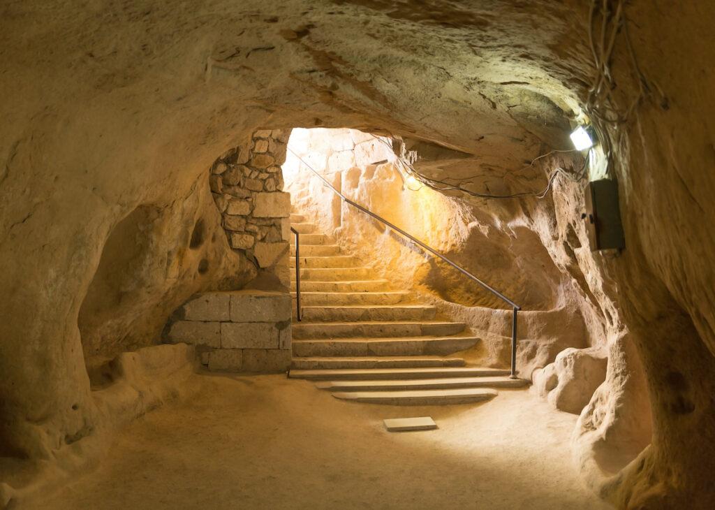 Kaymakli Underground City, Nevsehir, Turkey.