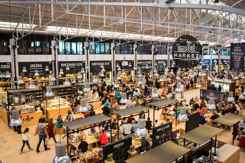 Time Out Market in Mercado da Ribeira