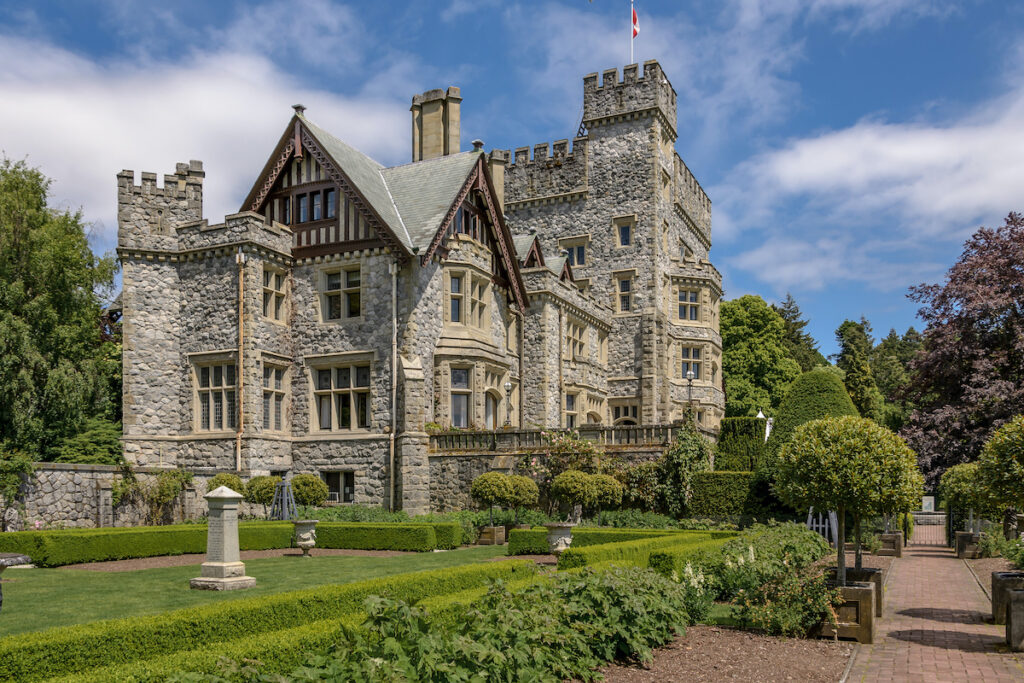 Hatley Park National Historic Site located in Vancouver Island Victoria British Columbia, Canada.