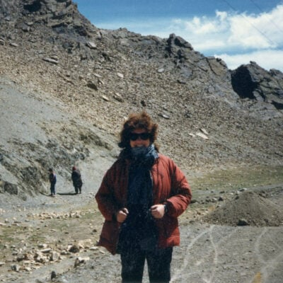 Barbara Winard on her journey from Nepal to Lhasa.
