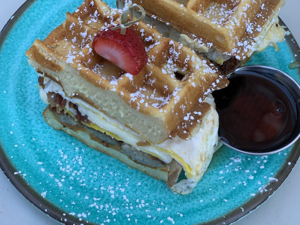 Sweet and Savory from Caffe Social.