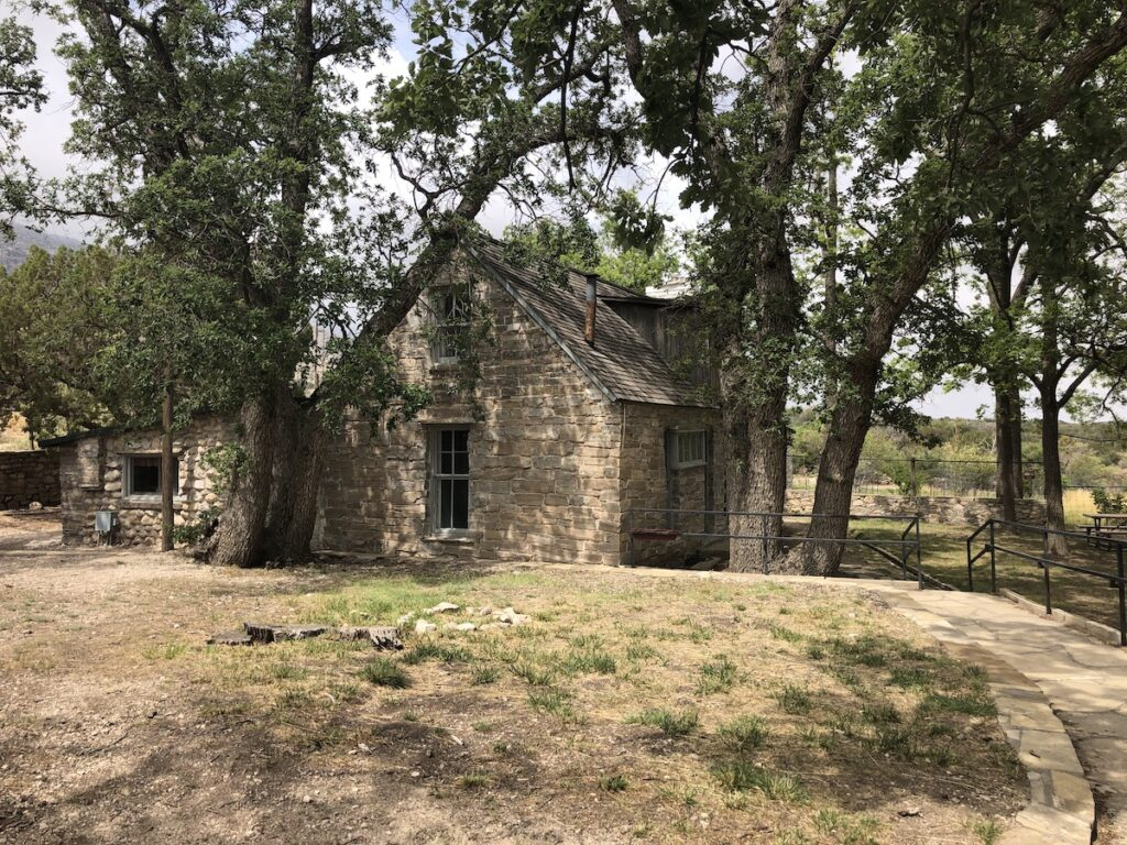 Frijole Ranch House Museum, Guadalupe Mountains National Park