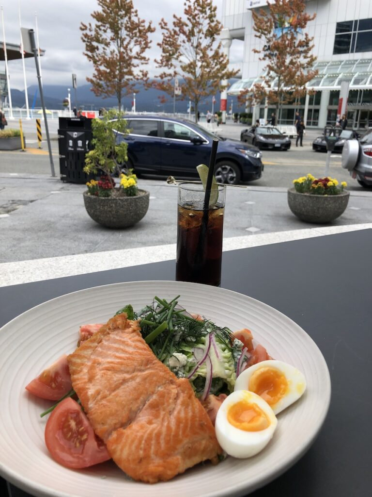 Lunch on Vancouver's waterfront