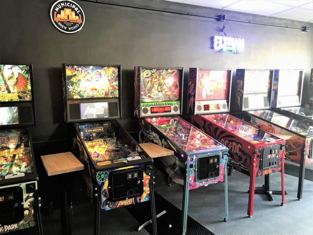 The Pinball Garage in Hamilton, Ohio