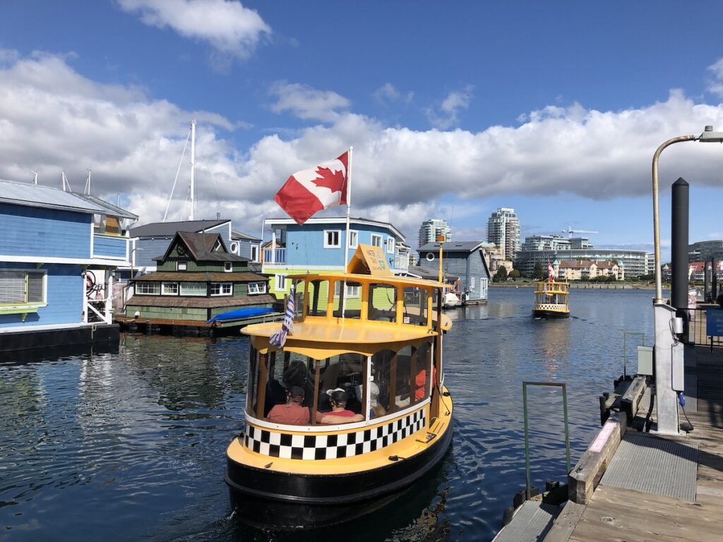 Boats at Fisherman's Wharf in Victoria