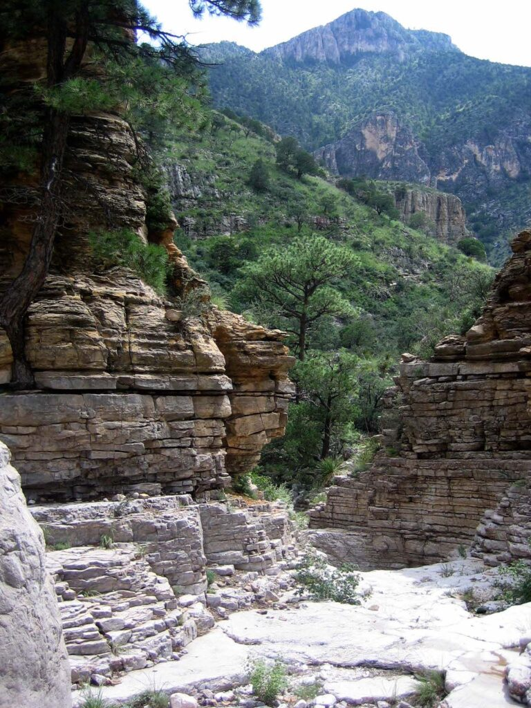 Devil's Hall Trail at Guadalupe Mountains National Park.