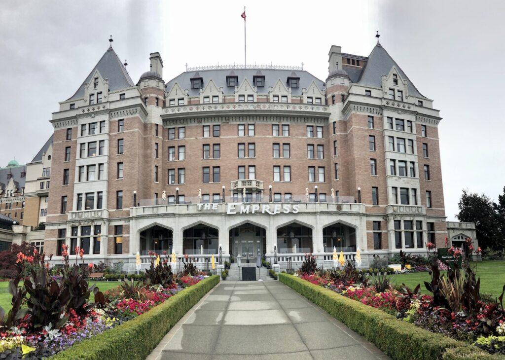 The Historic Fairmont Empress in Victoria, British Columbia