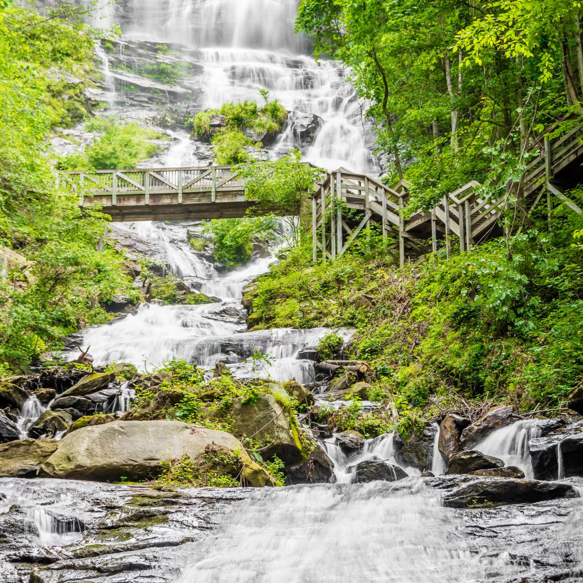 Amicalola Falls State Park, Georgia.