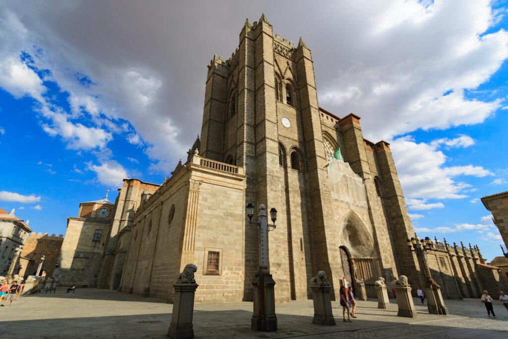 Catedral del Salvador en Ávila, España