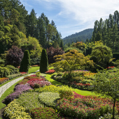 Butchart Gardens; Victoria, British Columbia