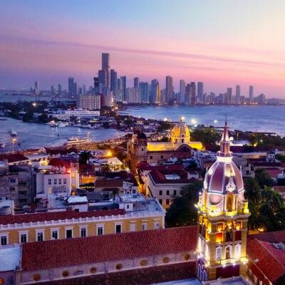 Skyline of Cartagena, Colombia