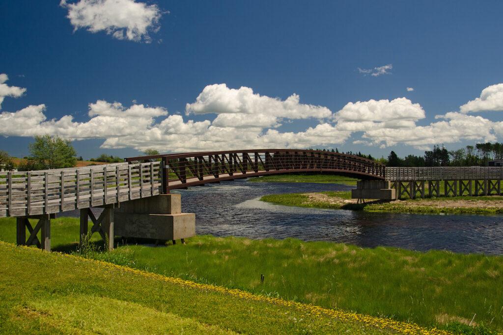 The Confederation Trail of Prince Edward Island