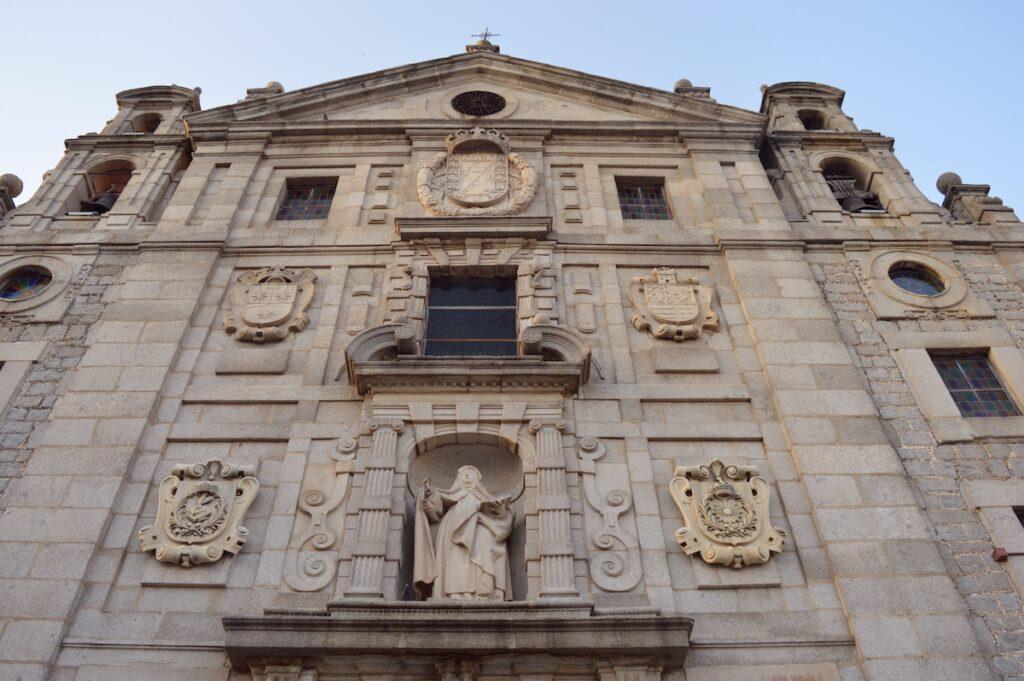 Monasterio de Santa Teresa.  Ávila, España