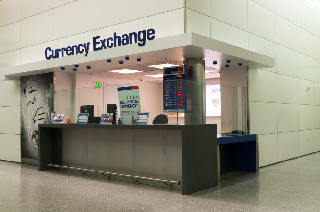 Currency exchange in San Francisco
