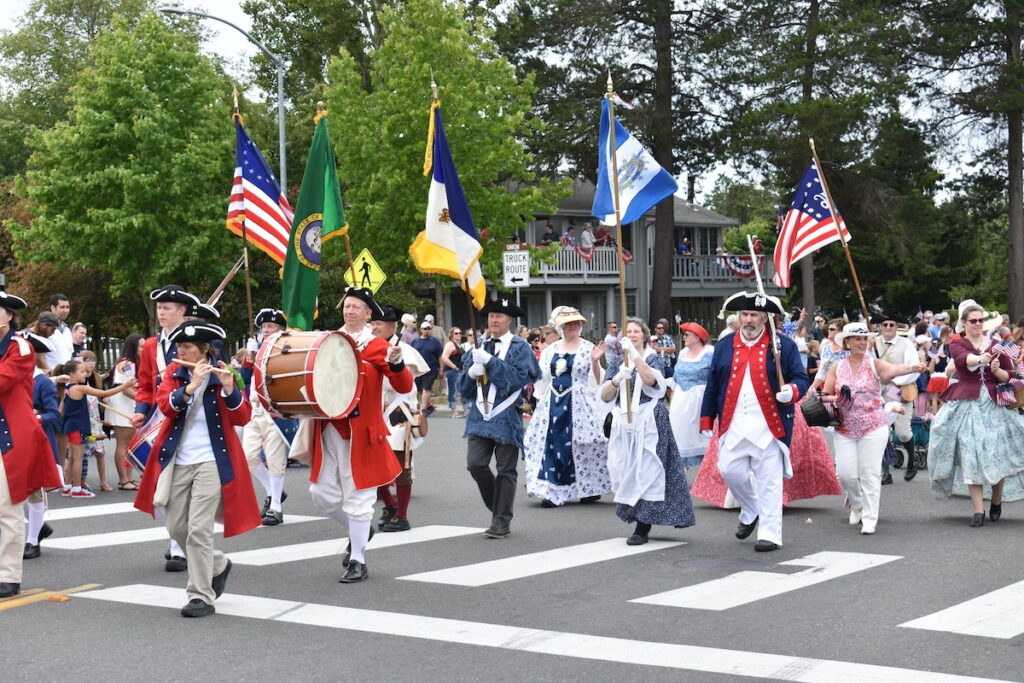 Steilacoom during 4th of July parade.