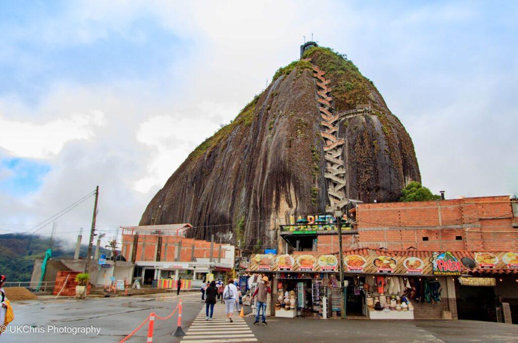 El Penon (Le Rocher) in Guatape, Colombia