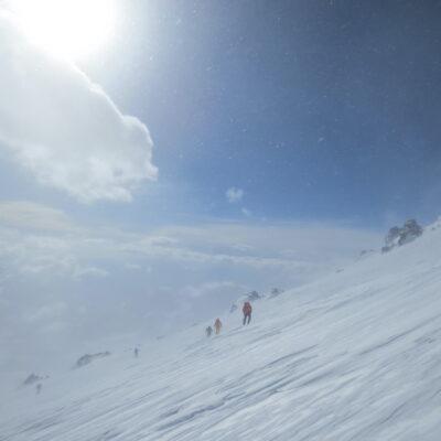 Climbers on Mt. Elbrus