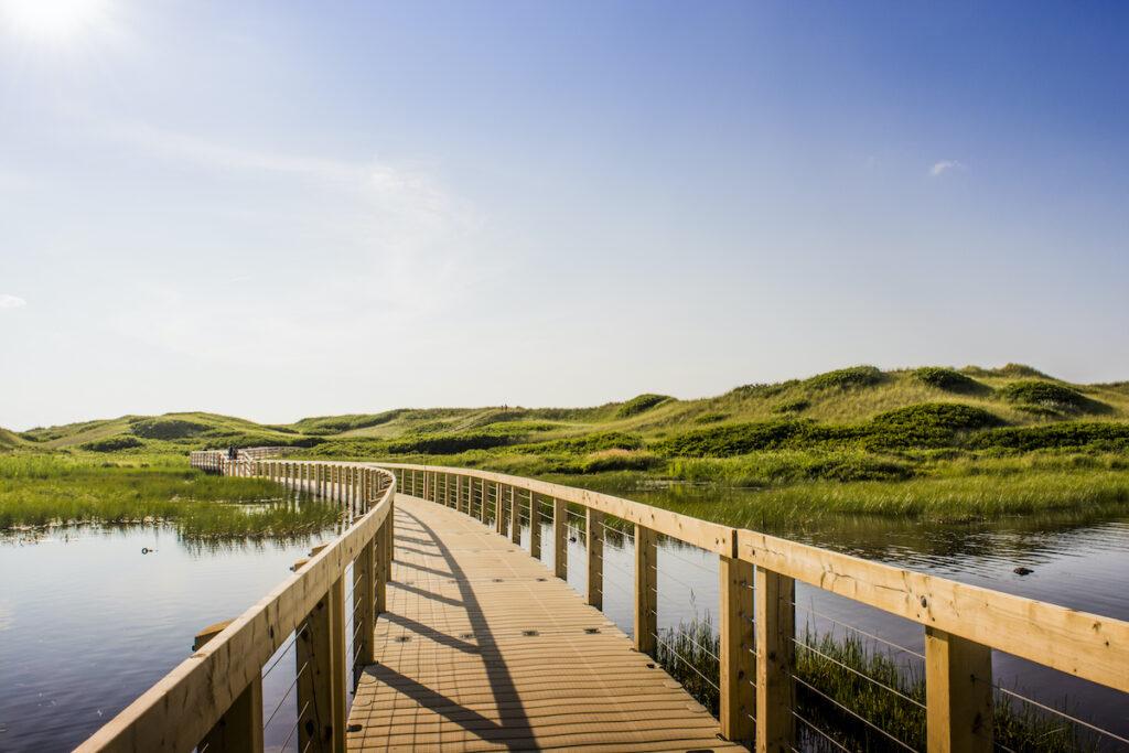 Greenwich Dunes on Prince Edward Island, Canada