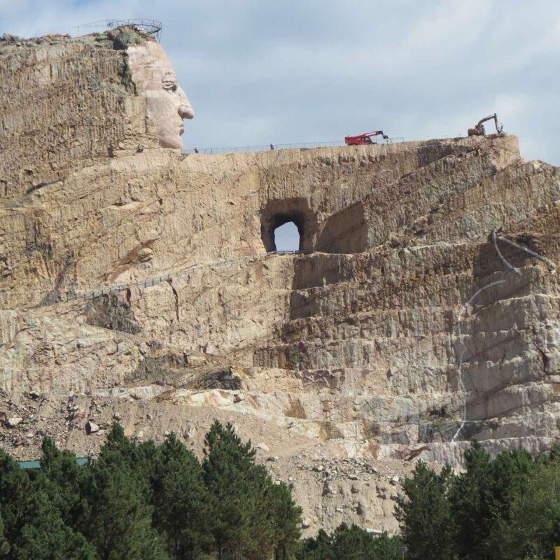 Crazy Horse Memorial near Rapid City, SD.