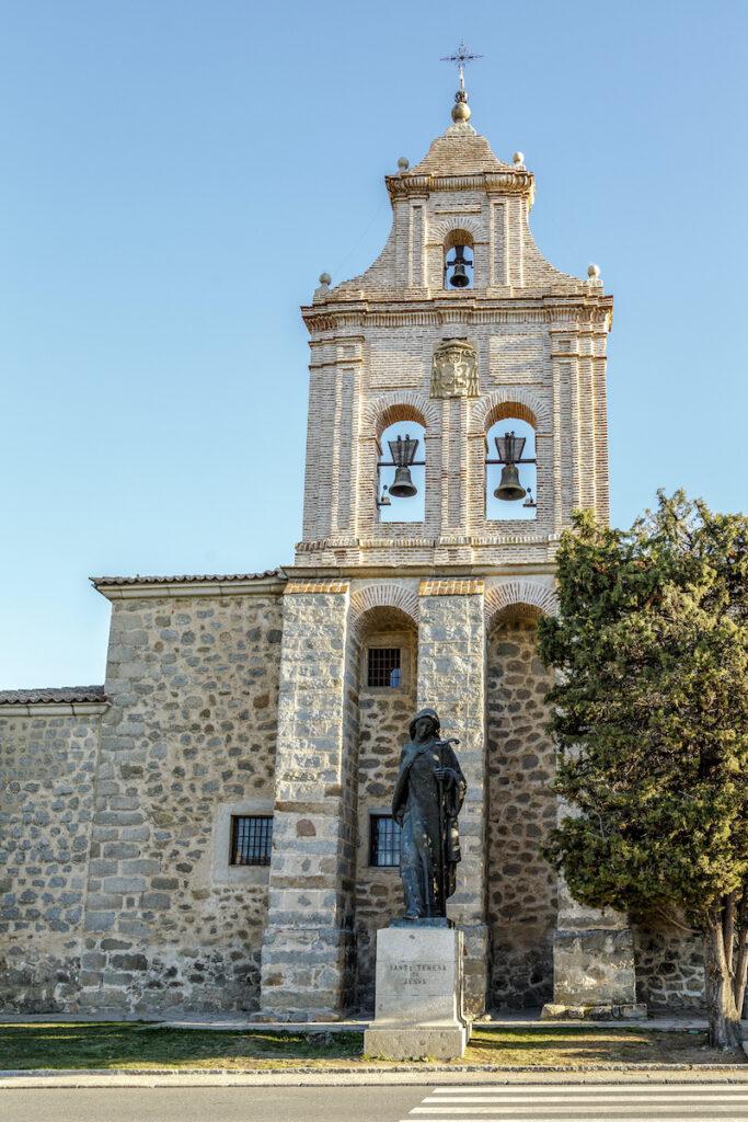 Puerta del Monasterio de la Encarnación.  Ávila, España