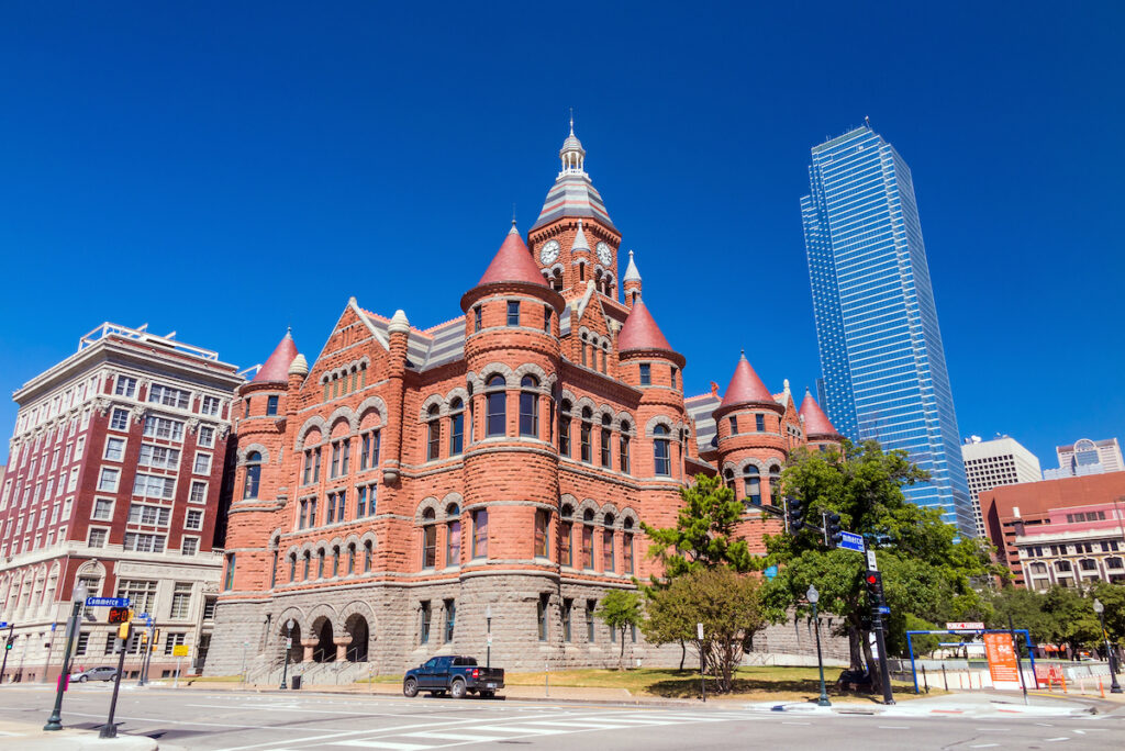 Old Red Museum of Dallas County History & Culture; Dallas, Texas