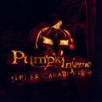 Entrance to Pumkinferno festival; Canada
