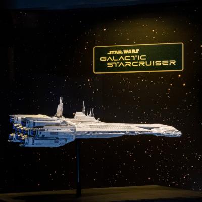 Disney Starcruiser model