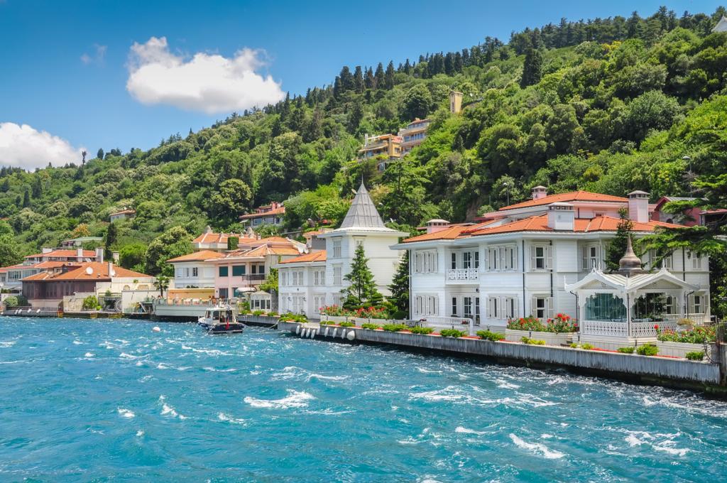 Coastline of Bosphorus, Princes Islands, Turkey