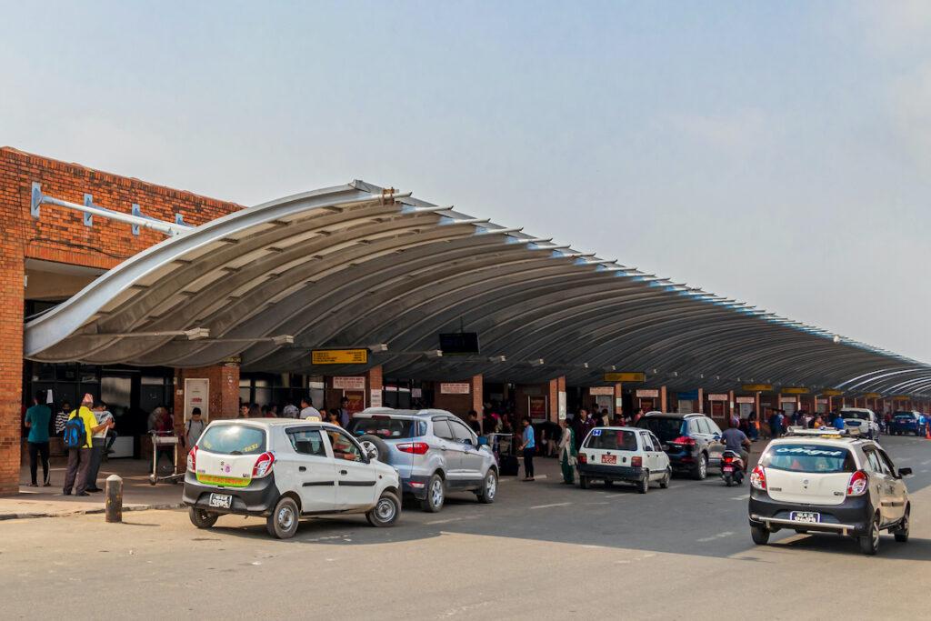 International arrivals at Tribhuvan Airport, Nepal