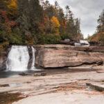 Triple Falls; near Asheville, North Carolina