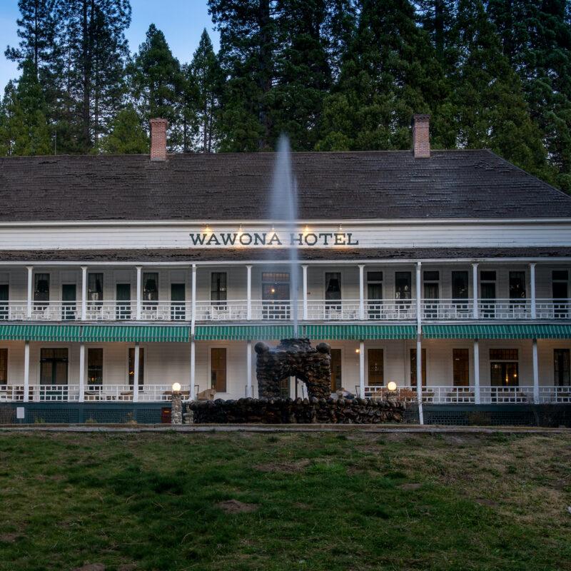 The Wawona Hotel; Yosemite National Park
