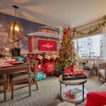 Club Wyndham NYC Christmas suite