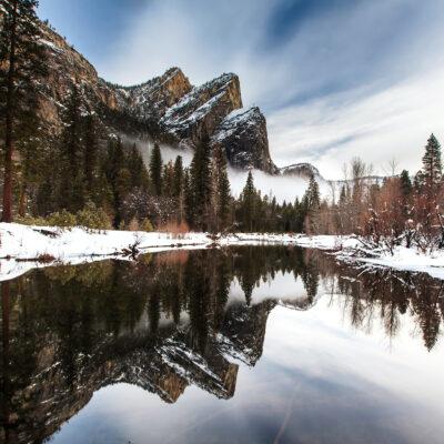 Three Brothers at Yosemite National Park