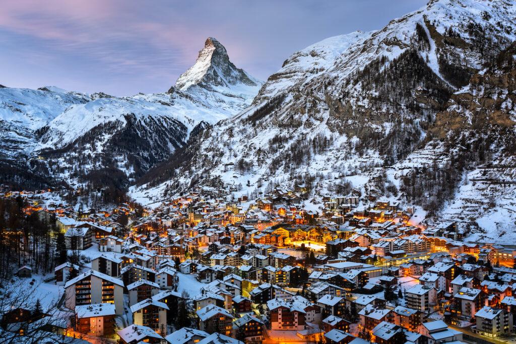 Zermatt skyline, Switzerland