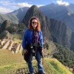 Heather Markel at at Machu Picchu.