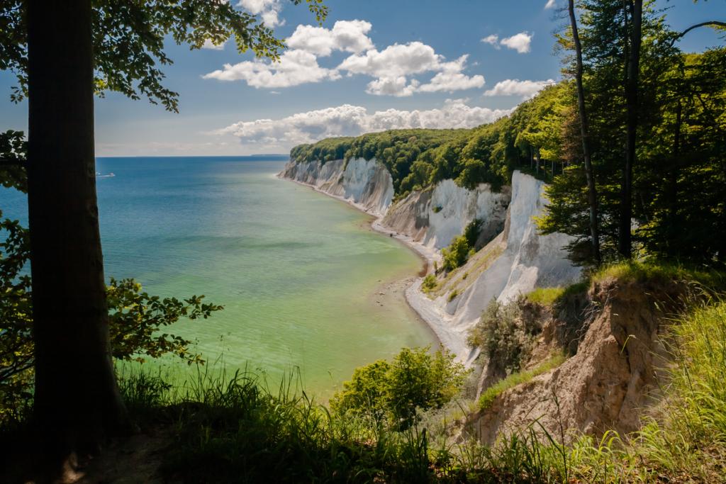 Chalk Cliffs in Rügen National Park, Rügen, Germany