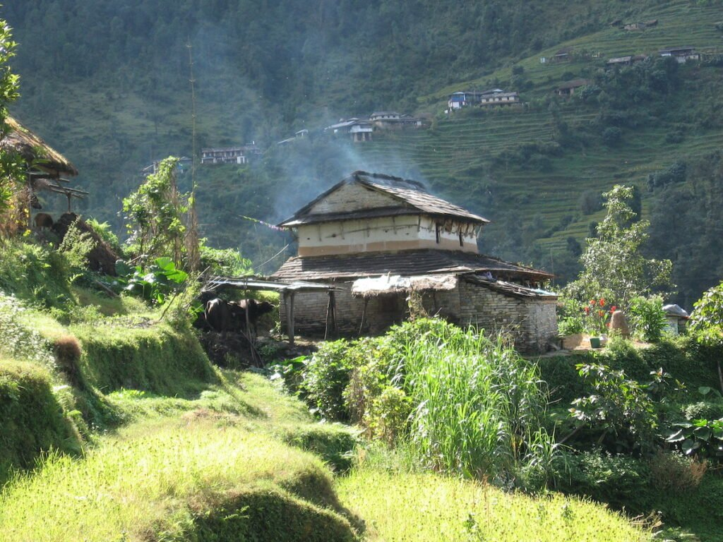 Trekking in the Himalayas of Nepal