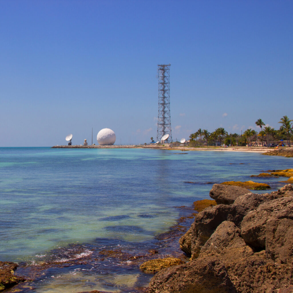 Key West, Florida / USA - March 25 2020: US Naval Air Station Key West.