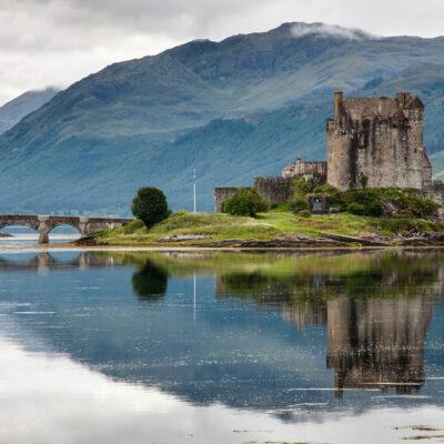Eilean Donan Castle, Loch Duich, Scotland, UK