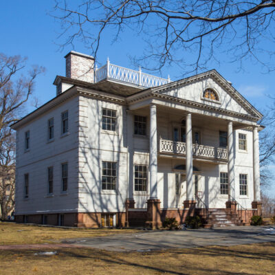 Historic Morris-Jumel Mansion in Manhattan. This home dating back to 1765 is the oldest home in Manhattan