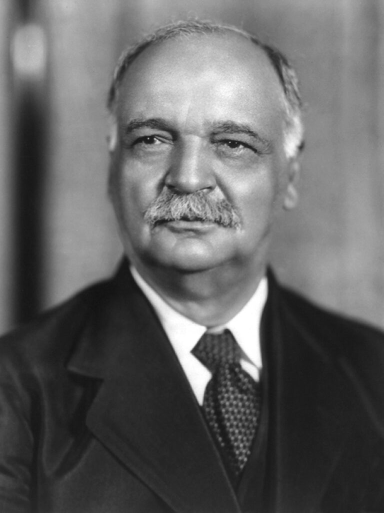 Charles Curtis (1860-1936), 31st Vice President of the U.S. in the Herbert Hoover Administration.