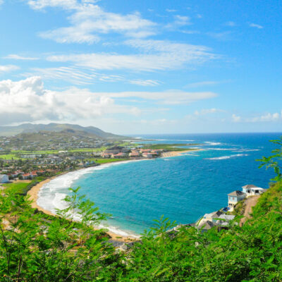 Caribbean island of St. Kitts