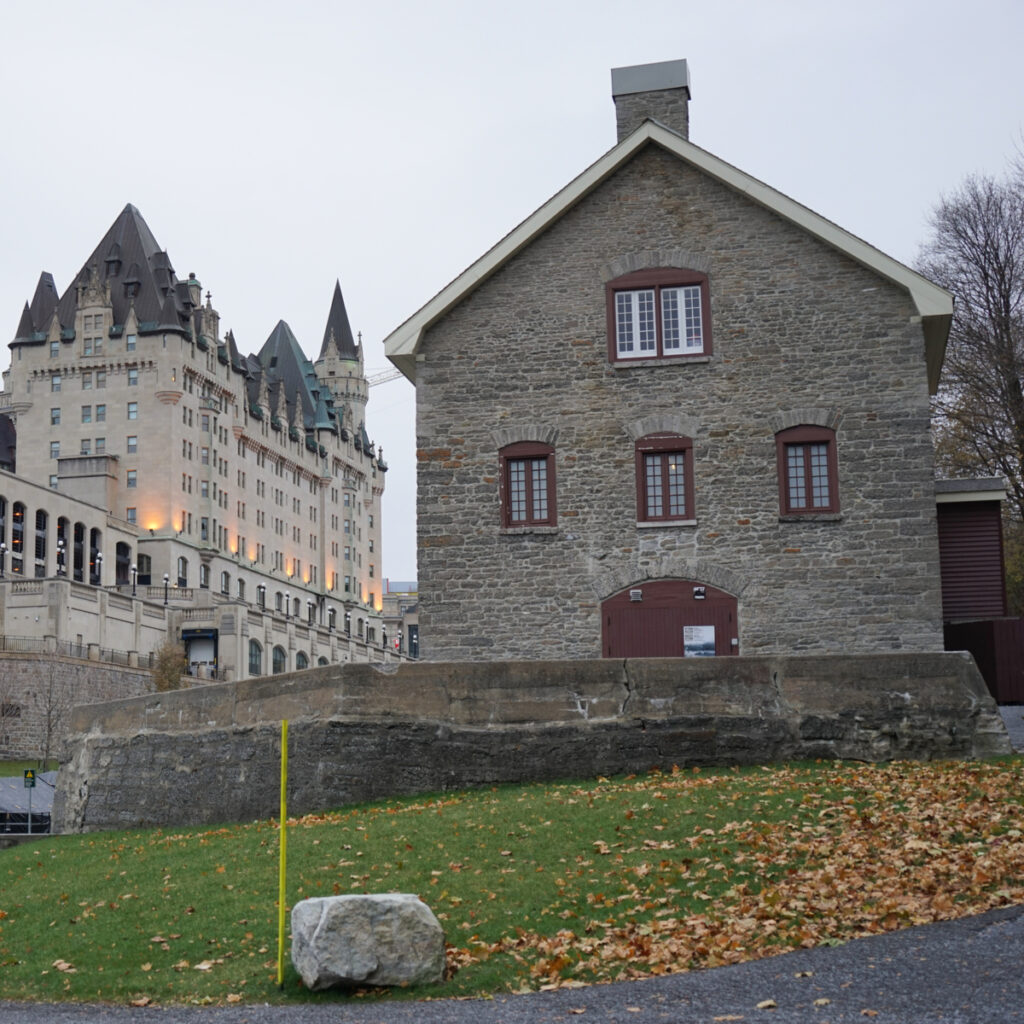 Bytown Museum near the Chateau Laurier.