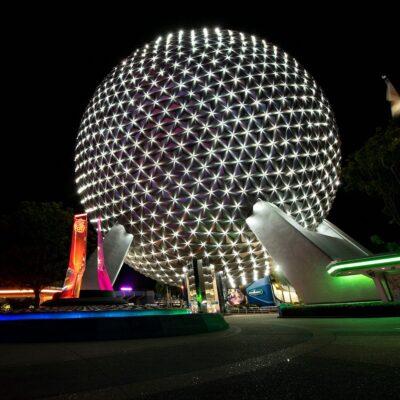 Beacon of Magic at EPCOT at Walt Disney World Resort in Lake Buena Vista, Florida