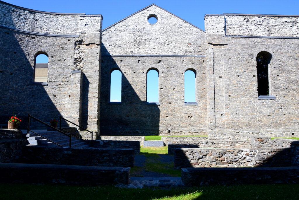 St. Raphael's Ruins, near Cornwall, Ontario.