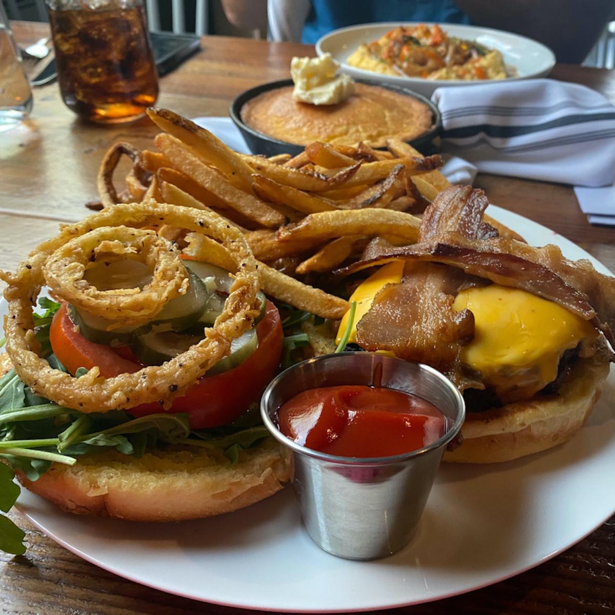 The Appalachian burger